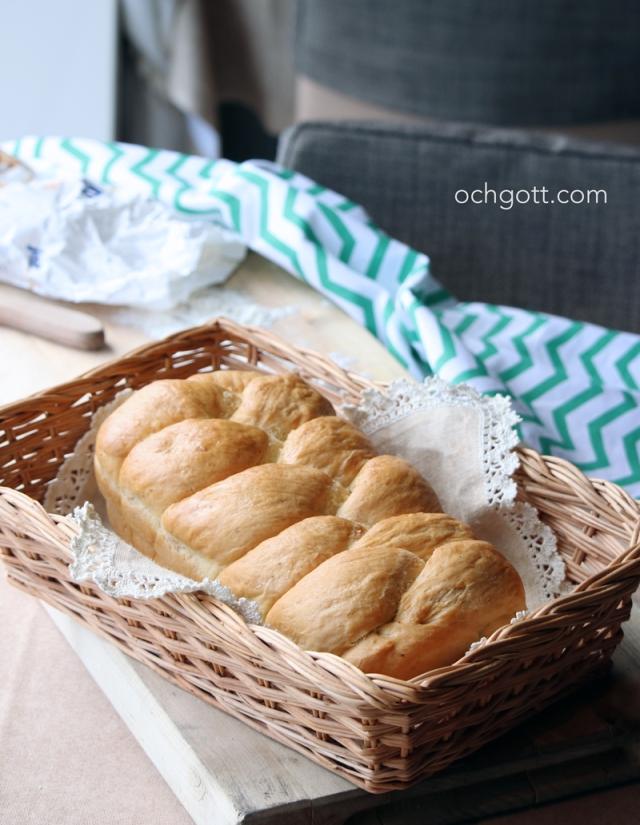 Flätbröd med rostad fänkål