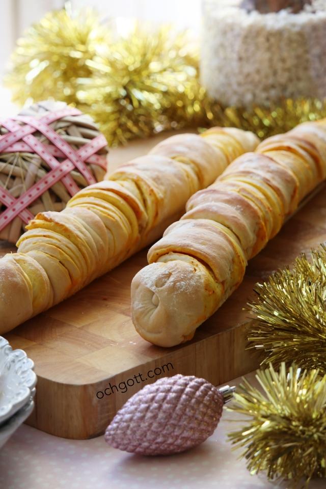 Pull-apart-baguette med vitlök och saffran - Foto: Britt-Marie Knutsson