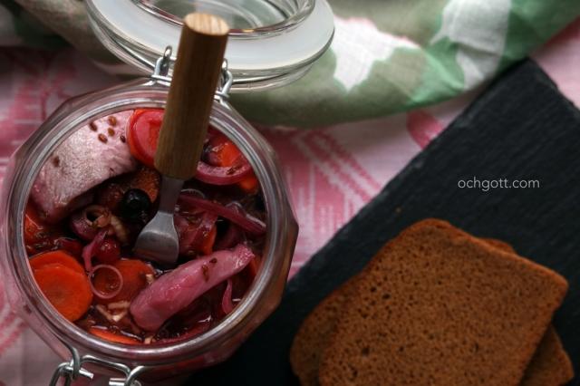 Vinbärssill med anis - Foto: Britt-Marie Knutsson