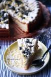 Vit citronkladdkaka med fluff och turkisk peppar