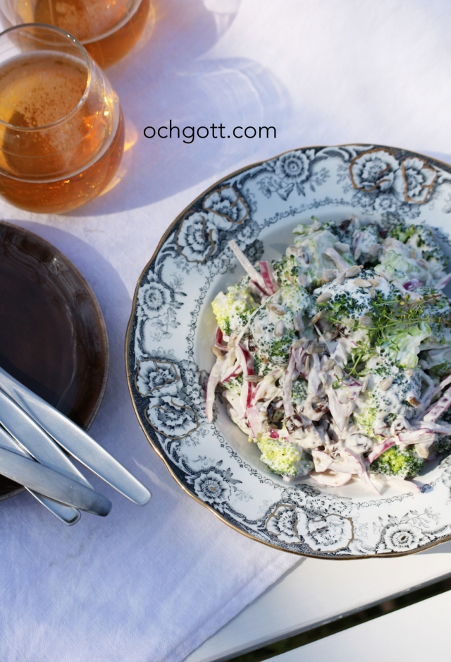 Broccolisallad - Foto:  Britt-Marie Knutsson