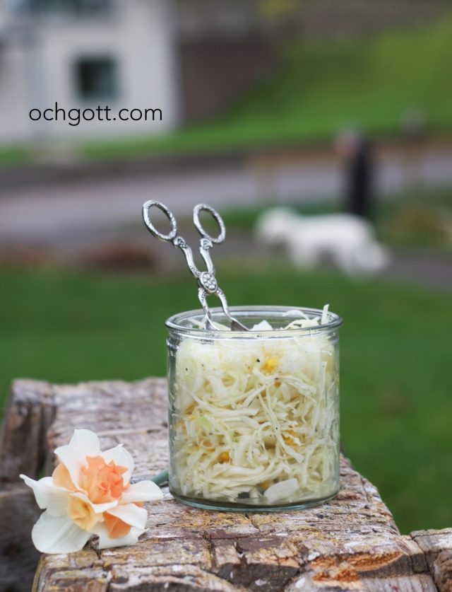 Vitkålssallad med majs - Foto: Britt-Marie Knutsson