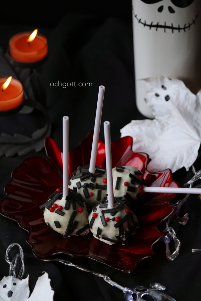 Halloweencakepops - Foto: Britt-Marie Knutsson