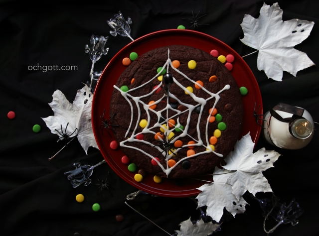 Non-stop-kladdkaka till Halloween - Foto: Britt-Marie Knutsson