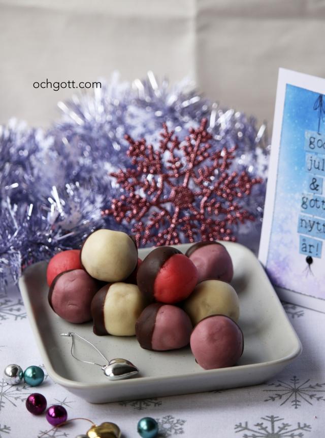 Pepparkaksbollar - Foto: Britt-Marie Knutsson