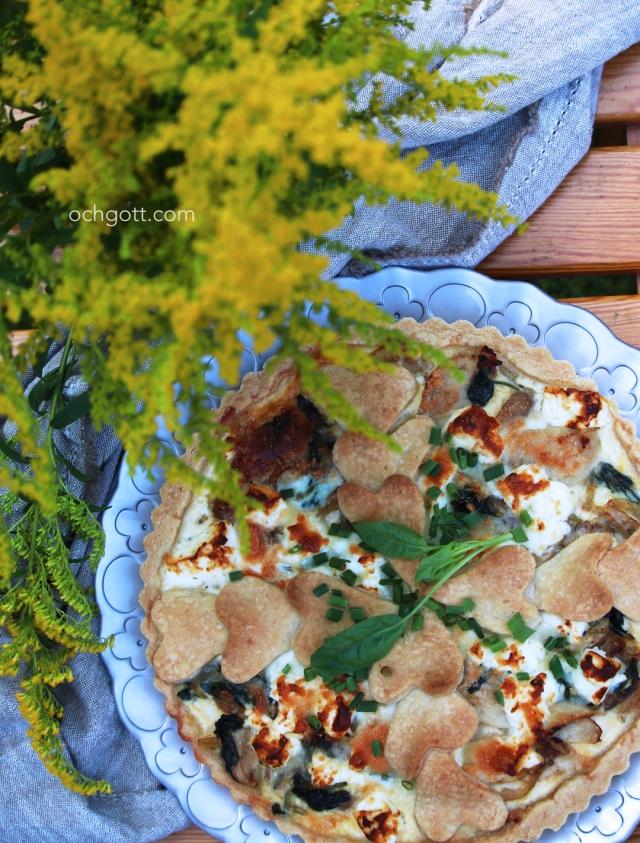 Kycklingpaj med spenat och fetaost - Foto: Britt-Marie Knutsson