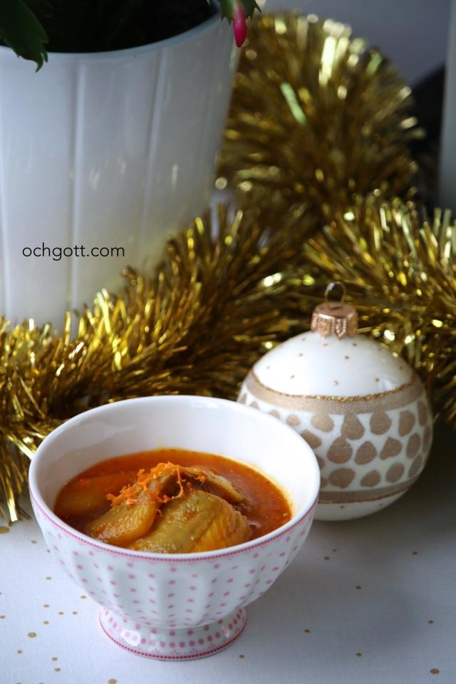 Saffrans- och apelsinsill - Foto: Britt-Marie Knutsson