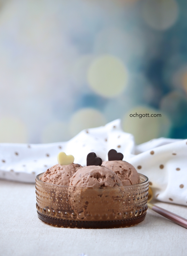 Mintchokladglass - Foto: Britt-Marie Knutsson