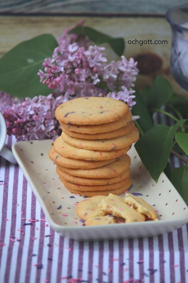 Funfetti cookies - Foto: Britt-Marie Knutsson