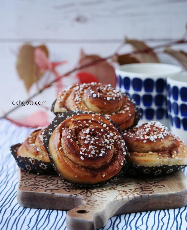 Kanel- och vaniljbullar - Foto: Britt-Marie Knutsson