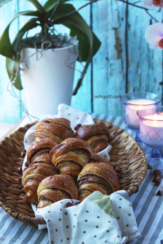 Nutellagifflar - Foto: Britt-Marie Knutsson