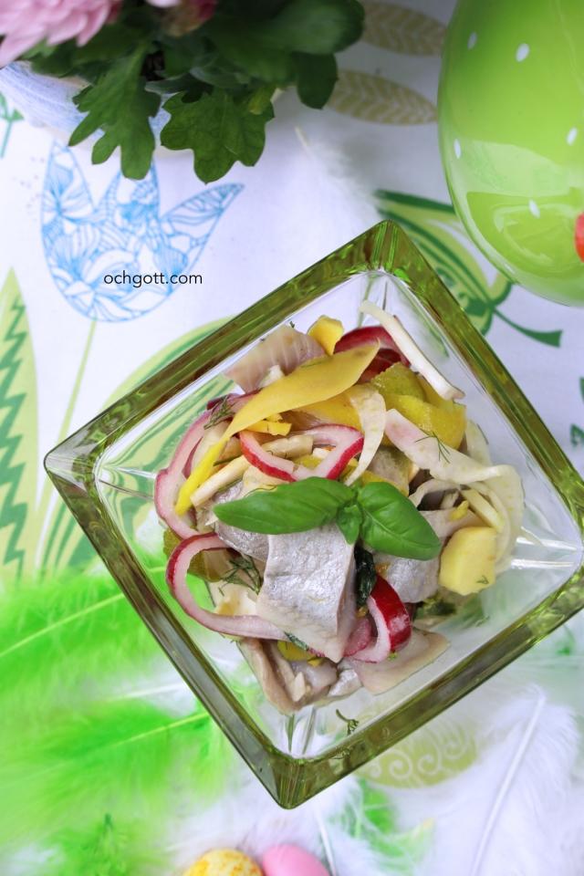 Ingefära- och citrussill med fänkål och basilika - Foto: Britt-Marie Knutsson